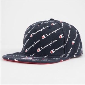 Champion Reverse Weave Script Men's Strapback cap